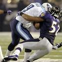 Ray Lewis sacks Steve McNair