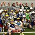 Loyola lacrosse clinic in Newtown, Conn.