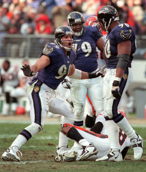 Defensive end made the Pro Bowl twice: 1998, 1999