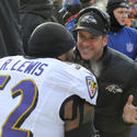 John Harbaugh, Ray Lewis