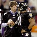 Michael Phelps and Jamal Lewis