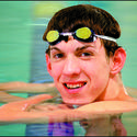Teenage Michael Phelps