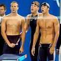 U.S. relay swimmers