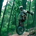 Mountain Unicycling