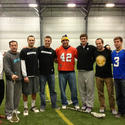 Players at the Newtown lacrosse clinic