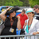 Early Preakness 2013 arrivals