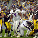 Nov. 4, 2001: Ravens 13, Steelers 10