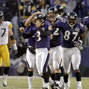 Nov. 20, 2005: Ravens 16, Steelers 13,OT