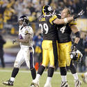 Oct. 31, 2005: Steelers 20, Ravens 19