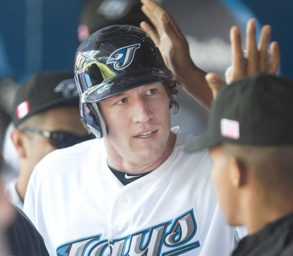 Former Orioles' first-round draft pick Adam Loewen hit his first major league home run for the Blue Jays. The O's had drafted Loewen as a pitcher.