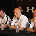 Cal Ripken Jr., Bill Ripken and Kevin Plank