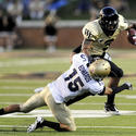 Navy 28, Wake Forest 27