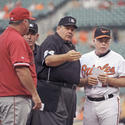 Mike Scioscia, Jerry Layne, Buck Showalter