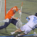 No. 2 Syracuse 10, No. 8 Johns Hopkins 7