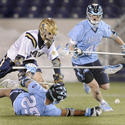 No. 3 North Carolina 11, No. 11 Navy 4