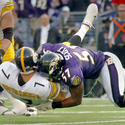 Nov. 26, 2006: Ravens 27, Steelers 0