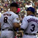 Cal Ripken Jr. and Alex Rodriguez