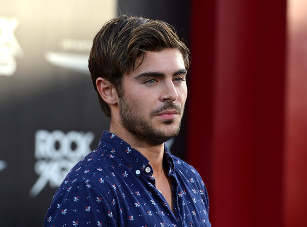 Actor Zac Efron was on the guest list for a party sponsored by Playboy.
