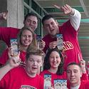 Maryland students show off their Final Four tickets