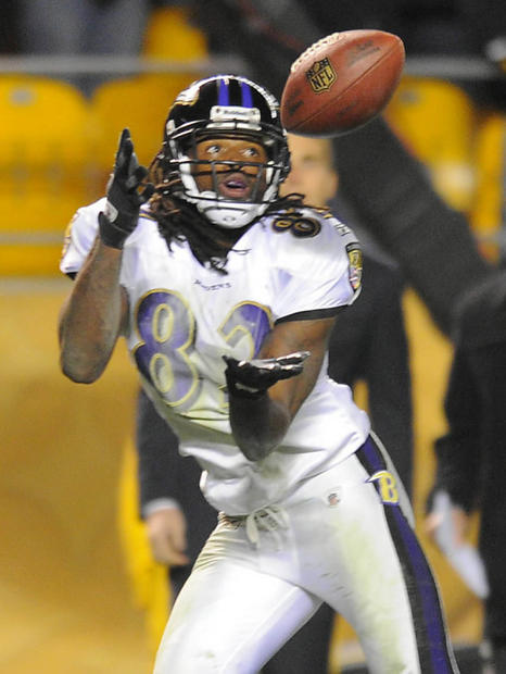 Joe Flacco whistled a 26-yard pass to Torrey Smith with eight seconds to play in last year's comeback victory over the Steelers at Heinz Field. The victory established Flacco as a big-game quarterback and allowed the Ravens to sweep the Steelers, positioning themselves for a first-round bye in the playoffs.
