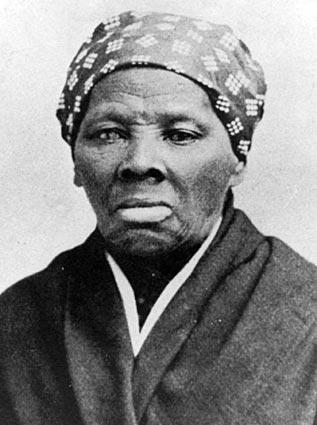 Harriet Tubman, the former slave who helped lead the underground railroad