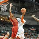 NCAA Basketball: Maryland at Miami