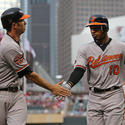 Adam Jones, J.J. Hardy