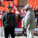 John Harbaugh, Romeo Crennel