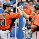 Steve Pearce, Lew Ford