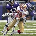 Ray Lewis brings down Jed Weaver
