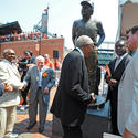 Earl Weaver statue dedication