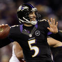No. 5: Joe Flacco is on a roll