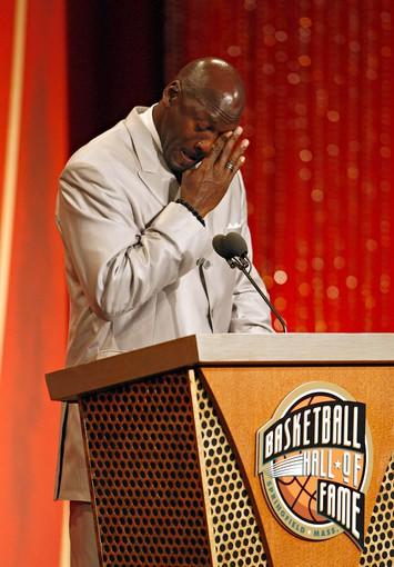 Michael Jordan is inducted into the Naismith Memorial Basketball Hall of Fame.