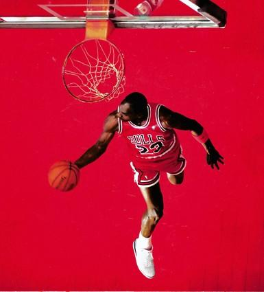 Jordan also took the dunk title in 1988 in Chicago Stadium, his dunks including this one…