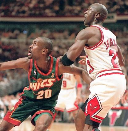 Jordan and the Bulls would go on to face Gary Payton and the Seattle SuperSonics in the 1996 NBA Finals. Guess what? They won.