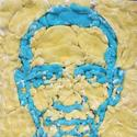 Barack Obama created in Marshmallow Peeps by Michael Leavitt