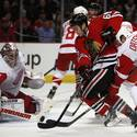 Blackhawks 3, Red Wings 2 (SO)