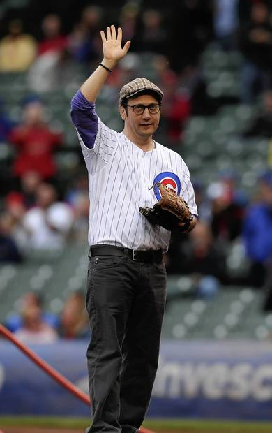 Actor/comedian Rob Schneider threw out a first pitch.