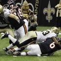 Cutler vs. Saints