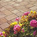 Lay stone patio pavers