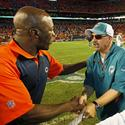 Lovie vs. the Dolphins