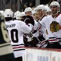 Blackhawks 1, Wild 0