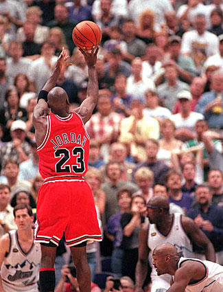 …which led to the last shot Jordan would ever take in a Bulls uniform…