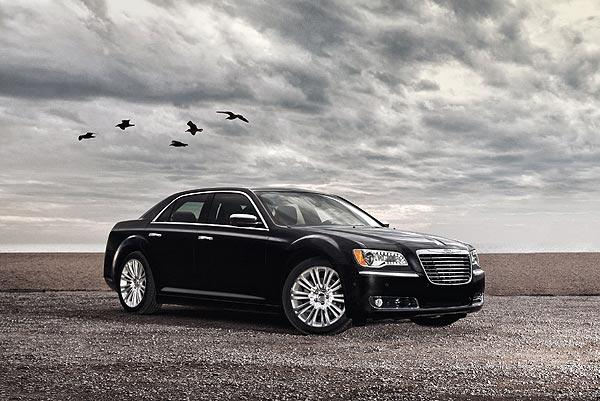 Compared to its predecessor, the 2011 Chrysler 300 has cleaner, more sophisticated sheet metal. The front gets the most thorough makeover, with a nose that is less blunt than before and a sleek chrome grille.