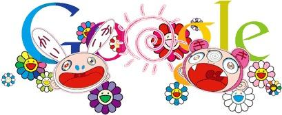 "Takashi Murakami — famous for his brightly colored, Superflat creations that draw from manga, anime and other aspects of Japanese pop culture — contributed designs featured on the Google homepage to celebrate both the summer solstice in the Northern Hemisphere and the winter solstice in the Southern Hemisphere. <a href=""http://latimesblogs.latimes.com/culturemonster/2011/06/takashi-murakami-helps-google-celebrate-summer-solstice.html"" class=""center_label"">Story</a>"