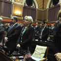 Tribute At State Capitol For Newtown Victims