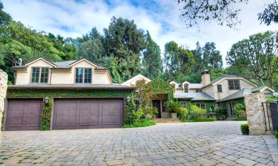 Actor Dennis Quaid's equestrian estate in Pacific Palisades.