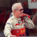 Paul Newman at Lime Rock in 2000