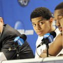 Jim Calhoun, Jeremy Lamb, Kemba Walker