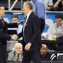 Kentucky coach John Calipari, Jim Calhoun